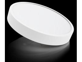 Plafoniera Led Con Sensore : Plafoniere circolari a led con diffusore prismatico antiabbagliamento